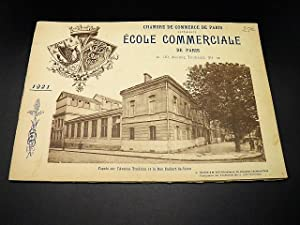 Album photographique souvenir de l'Ecole Commerciale de Paris. 1921. Chambre de Commerce de Paris.