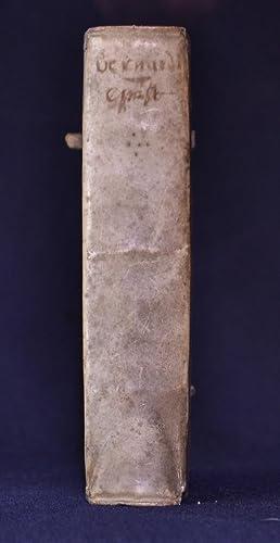 Sancti Bernardi selectarum epistolarum liber unicus, opera: SAINT BERNARD DE