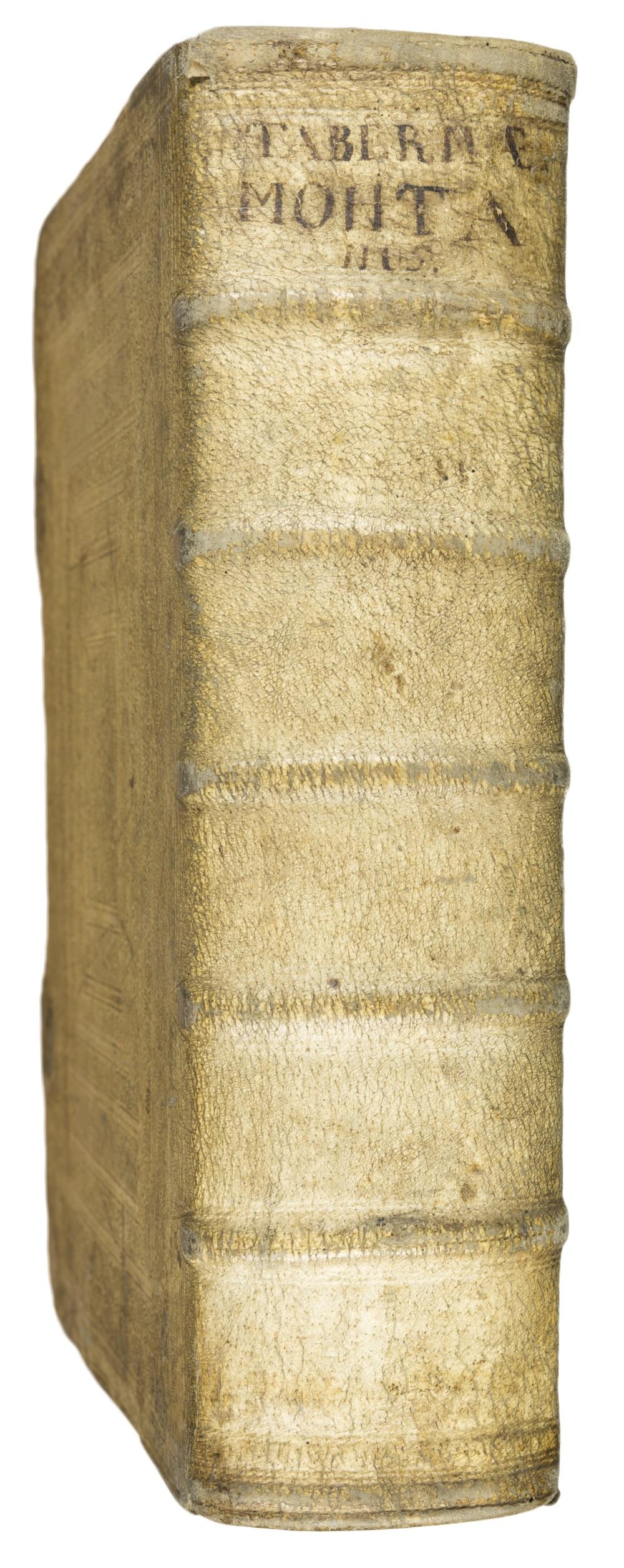 Neu vollkommen Kräuter-Buch/ Darinnen über 3000. Kräuter/: TABERNAEMONTANUS, J.T.