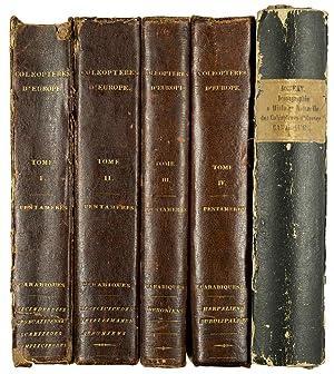 Iconographie et histoire naturelle des Coléoptères d'Europe.: DEJEAN, P.F. &
