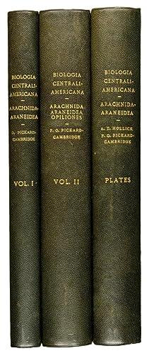 Biologia Centrali-Americana. Insecta. ARACHNIDA-ARANEIDEA by Octavius Pickard-Cambridge: GODMAN, F. DU