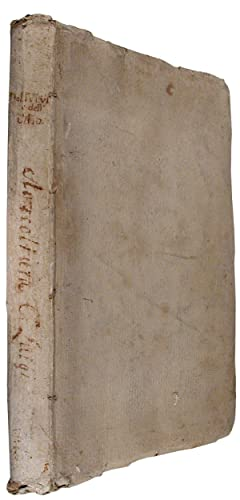 [Manuscript on Olive Trees and Olive Oil of Tuscany and some adjacent areas, by Count Luigi Fanto...
