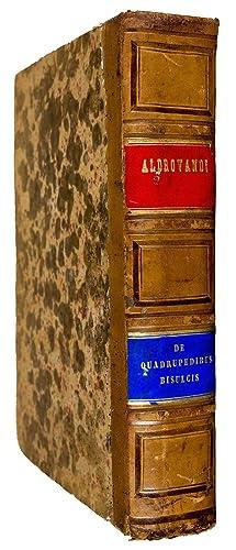 Quadrupedum omnium bisulcorum historia .: ALDROVANDI, U.
