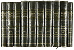 First series, volumes 1-7 (all published). London, W. Bulmer/ W. Nicol, 1812-1830. [and] Second s...