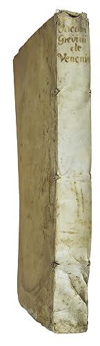 De venenis libri due. Gallice primum ab: GREVIN, J.