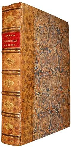 Insectorum Liguriae species novae aut rariores, quas: SPINOLA, M.