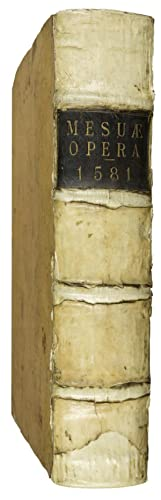 Opera de medicamentorum purgantium delectu, castigatione, &: MESUA, J. (also