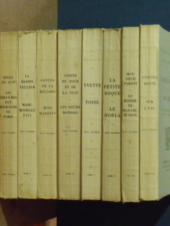 Les Oeuvres Complètes de Maupassant (French Edition)