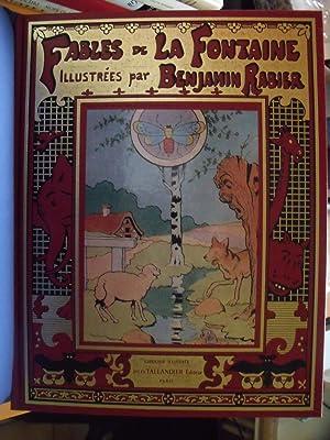 Fables de La Fontaine, illustrées par Benjamin: La Fontaine, Jean