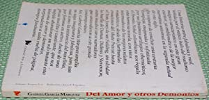Del Amor y Otros Demonios (Of Love and Other Demons): Garcia Marquez, Gabriel