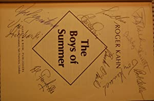 The Boys of Summer - SIGNED BY: Kahn, Roger