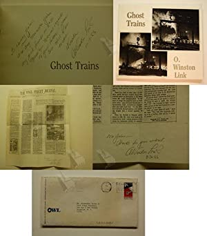 Ghost Trains: Railroad Photographs of the 1950s: Link, O. Winston