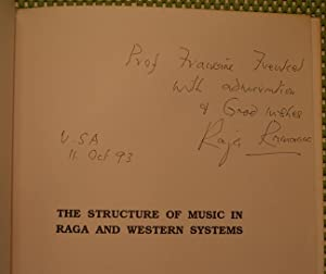 The Structure of Music in Raga and: Ramanna, Raja