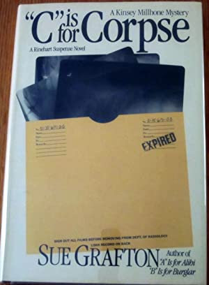 "C"" is for Corpse; ""C"" is for Corpse Proof Copy (Sold as a Set): Sue Grafton"