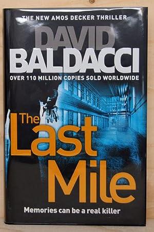 The Last Mile (UK Signed & Numbered: David Baldacci