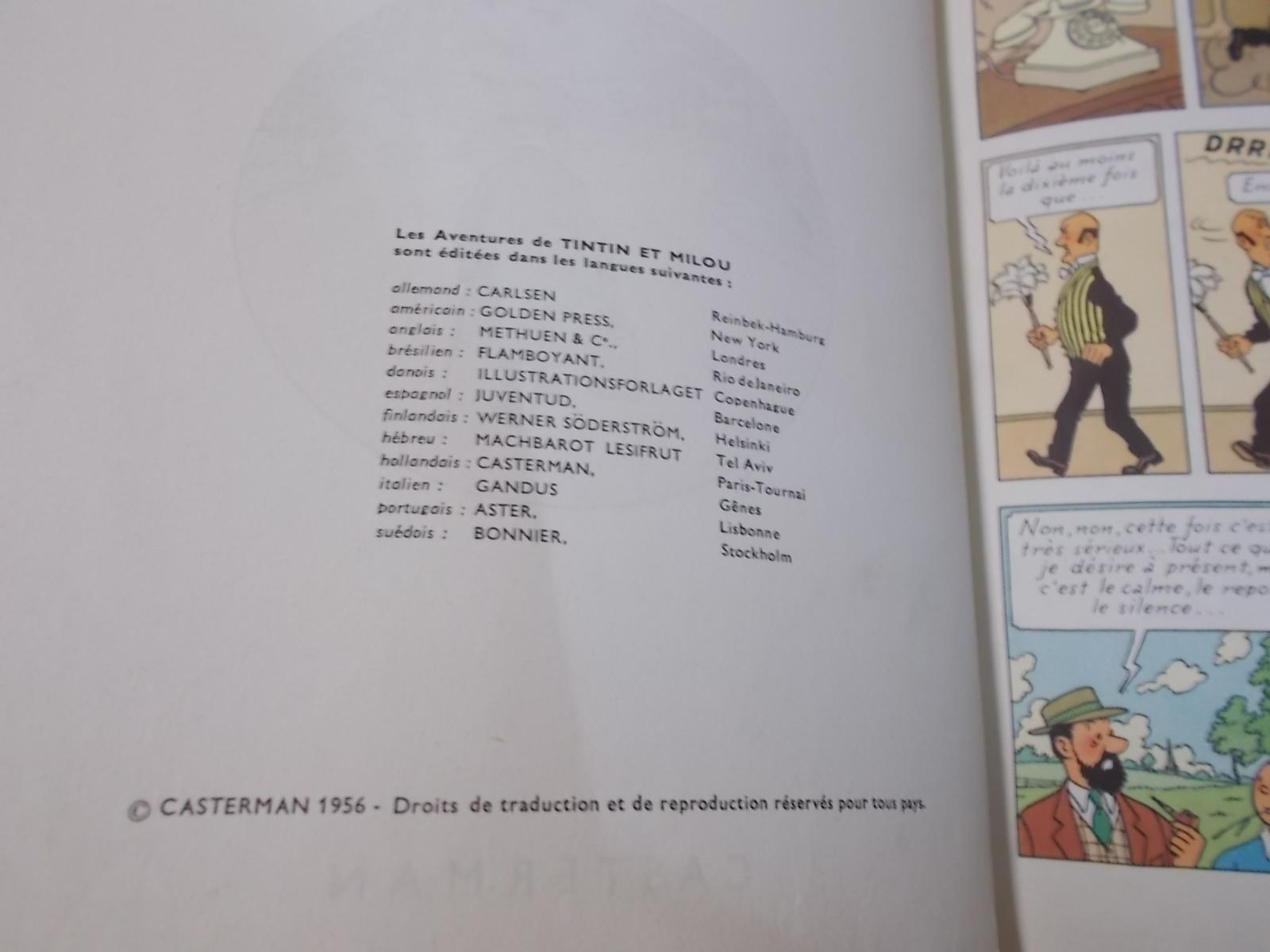 Les aventures de tintin l affaire tournesol casterman hardcover