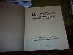 Les Papous, Peintures Corporelles, Parures Et Masques