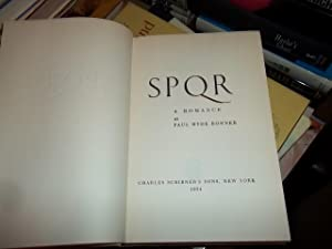 SPQR: Bonner, Paul Hyde