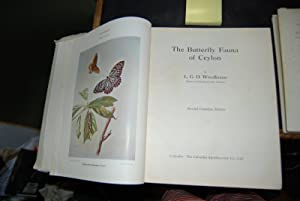 The Butterfly Fauna of Ceylon: Woodhouse, L.G.O.