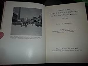 History of the Argyll & Sutherland Highlanders 1st Battalion: Graham