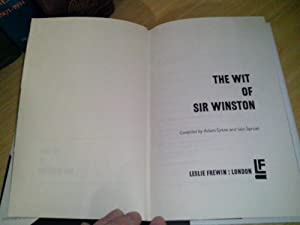 The Wit Of Sir Winston: Sykes, Adam