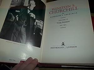 Winston S. Churchill Volume II: 1901 - 1914 Young Statesman: Churchill, Randolph S.