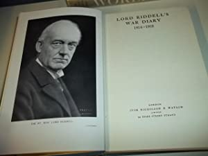 Lord Riddell's War Diary 1914-1918