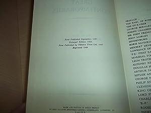 Great Contemporaries: Churchill, Winston S.