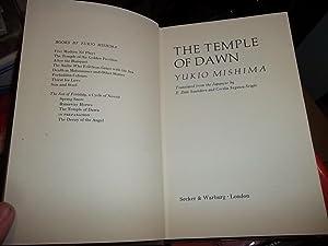 The Temple of Dawn: Mishima, Yukio
