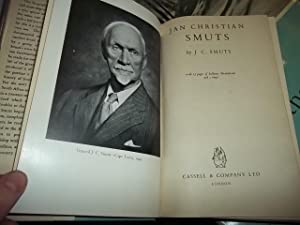 Jan Christain Smuts: Smuts, J.C.