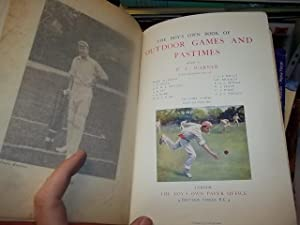 The Boys Own Book of Outdoor Games and Pastimes: Warner, P.F.