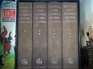BATTLES AND LEADERS OF THE CIVIL WAR (Four Volumes Complete): Johnson. Underwood Robert
