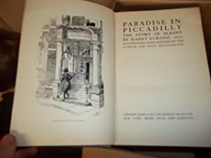 Paradise in Piccadilly, The Story of Albany: Furniss, Harry