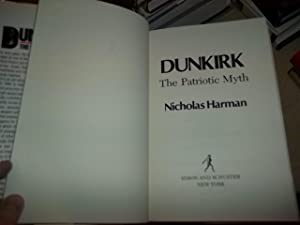 Dunkirk, the Patriotic Myth: Harman, Nicholas
