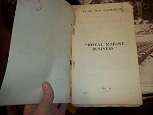 "Royal Marine Business"" No.4"