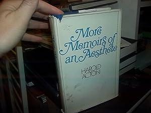 More Memoirs of An Aesthete: Acton, Harold
