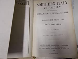 Baedeker's Souther Italy and Sicily: Baedeker, Karl