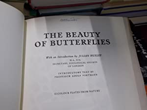 The Beauty of Butterflies: Huxley, Julian; Introduction.