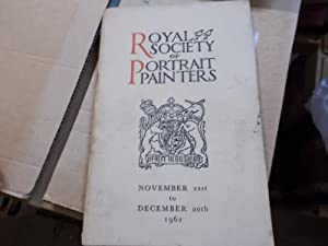 Royal Society of Portrait Painters 1962