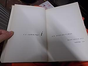 Six Nonlectures: Cummings, E. E.