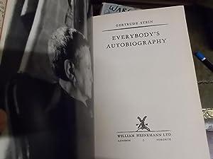 Everybody's Autobiography: Stein, Gertrude