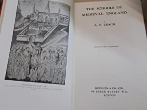 The Schools of Medeival England: leach