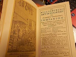 The Williamsburg Art of Cookery: Bullock, Helen