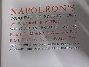 Napoleon's Conquest of Prussia 1806: Petre, Loraine