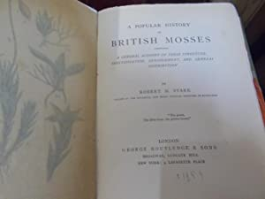 A Popular History of British Mosses: Stark, Robert