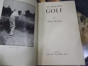 on Learning Golf: Boomer, Percy