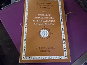 Problems and Exercises in the Calculus Of: Krasnov, M. L.,