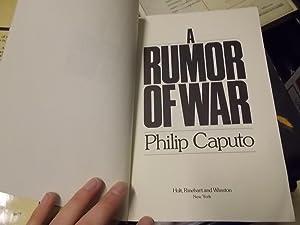 Rumor of War: Caputo, Philip