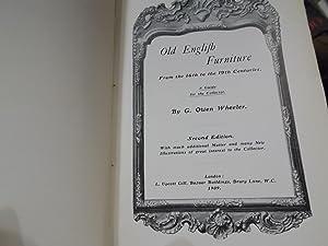 Old English Furniture: Wheeler