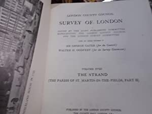 Survey Of London Vol. Xviii: The Strand (Parish Of St. Maritn-In-The-Fields, Part Ii)